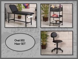 Dövme Malzemesi | Oval-S02 | Sedye, Cihaz Sehpası, Sandalye