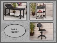 Dövme Malzemesi   Elit-S12   Sedye (Delikli), Cihaz Sehpası, Sandalye