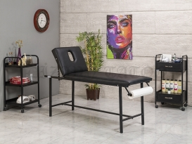 Dövme Malzemesi | Basic-S12 | Sedye (Delikli), Cihaz Sehpası, Sandalye