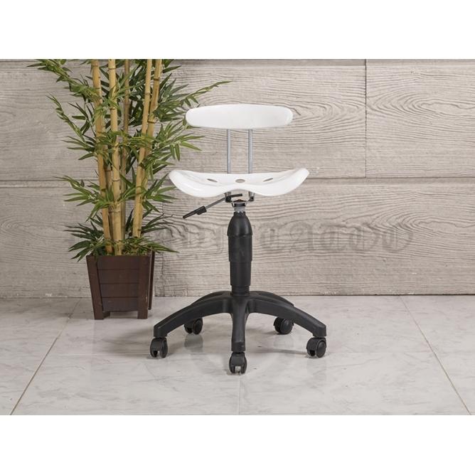 Dizayn Arkalıklı Amortisörlü Dövmeci Sandalyesi (Plastik Ayak)