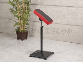 Kol Dayama Sehpası - Kare Ayak - Kırmızı Siyah
